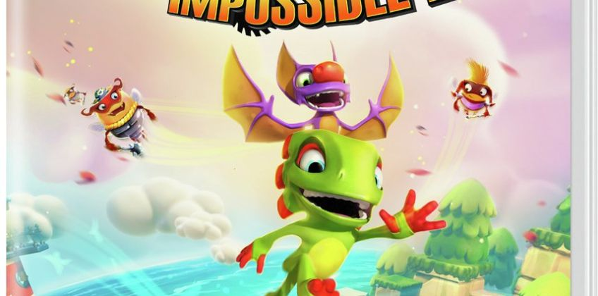 Yooka Laylee and the Impossible Lair Nintendo Switch Game from Argos