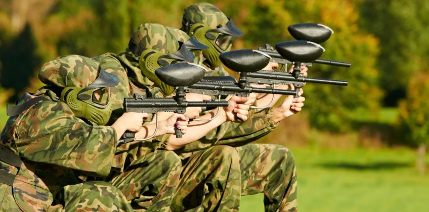 Paintball For Four Gift Experience from Argos