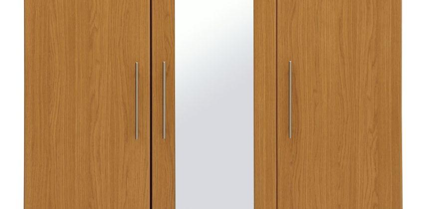 Argos Home Normandy 3 Door 3 Drawer Large Mirror Wardrobe from Argos