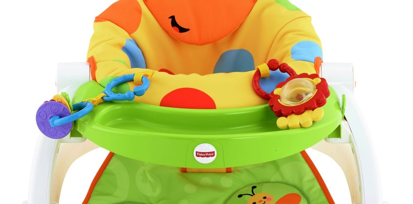 Fisher Price Giraffe Sit-Me-Up Feeding Booster Seat from Argos