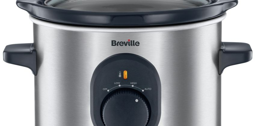 Breville 1.5L Compact Slow Cooker - Stainless Steel from Argos