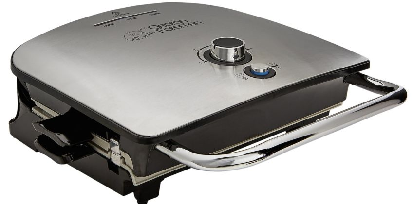 George Foreman Medium Removable Plates Grill & Melt 22160 from Argos
