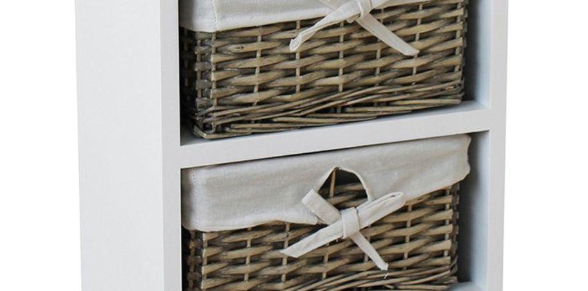 Argos Home New Malvern 4 Drawer Storage Unit - White from Argos