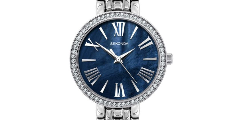 Sekonda Classique Ladies Silver Base Metal Bracelet Watch from Argos