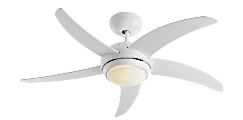 Argos Home Manhattan Ceiling Fan - White from Argos