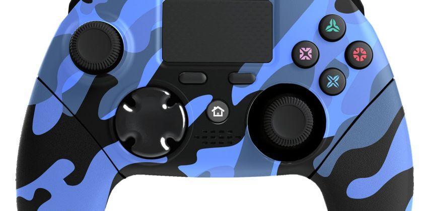 Mayhem MK1 PS4 Controller - Blue Camo from Argos