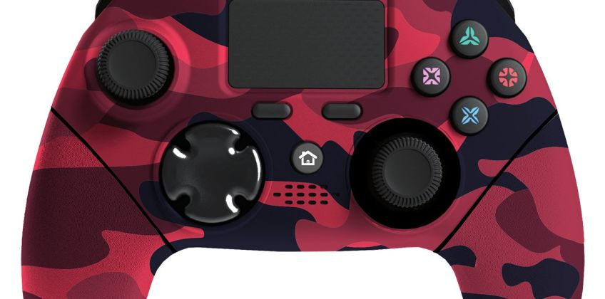 Mayhem MK1 PS4 Controller Pre-Order - Red Camo from Argos