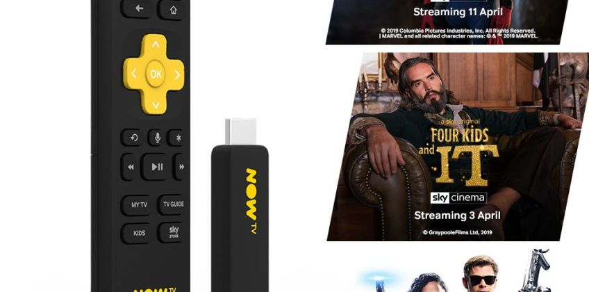 NOW TV Smart Stick with 3 month Sky Cinema Pass from Argos