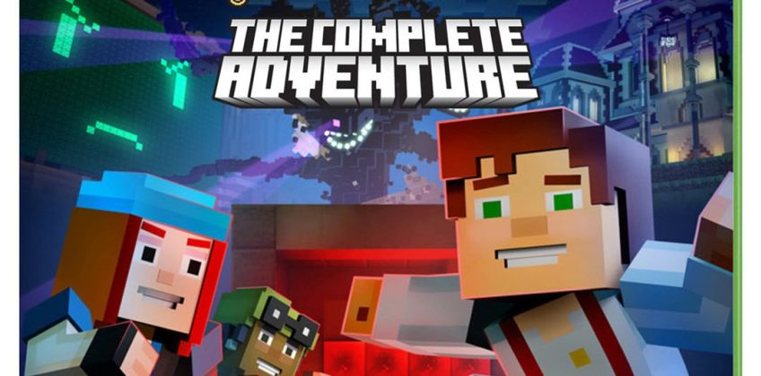 Minecraft: Story Mode Complete Edition Xbox One Game from Argos