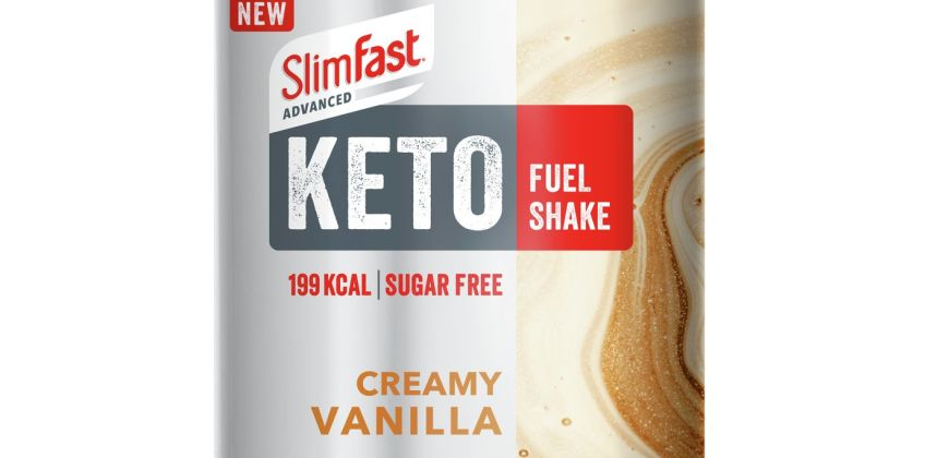 SlimFast Advanced Keto Fuel Shake Creamy Vanilla from Argos