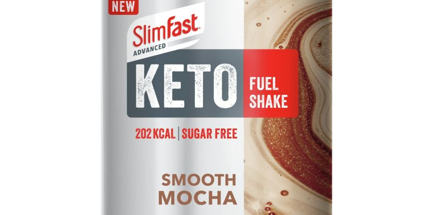 SlimFast Advanced Keto Fuel Shake SMooth Mocha from Argos