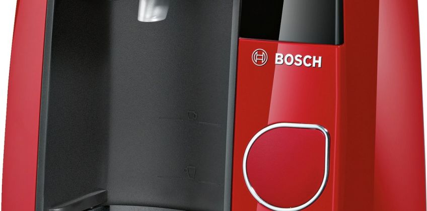 Tassimo by Bosch Joy Pod Coffee Machine - Red from Argos