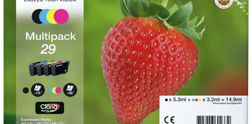 Epson 29 Strawberry Ink Cartridges - Black & Colour from Argos