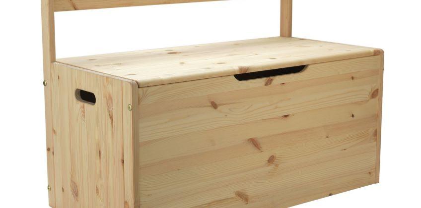 Argos Home Scandinavia Pine Extra Large Toy Box from Argos