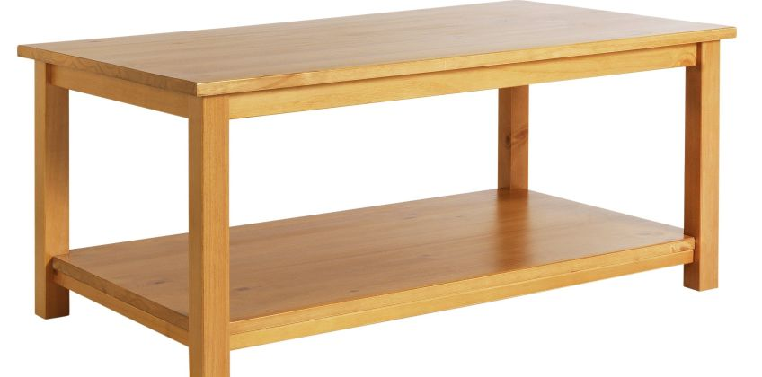 Argos Home Porto Solid Wood Coffee Table - Pine from Argos