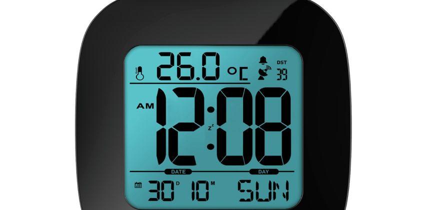 Precision Radio Controlled LCD Alarm Clock from Argos