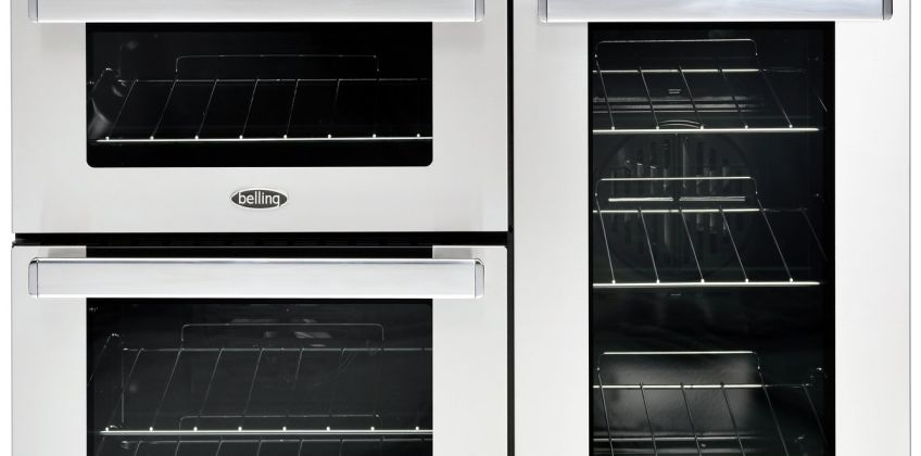 Belling Cookcentre 90DFT 90cm Dual Prof Range Cooker - SS from Argos