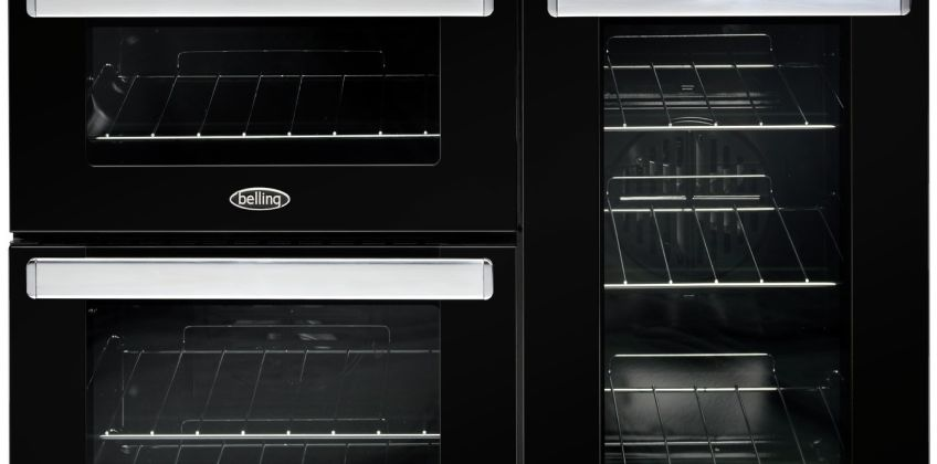 Belling Cookcentre 90E 90cm Electric Range Cooker - Black from Argos