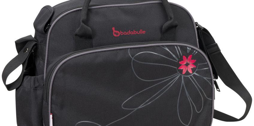 Badabulle Vintage Changing Bag - Black/Pink. from Argos