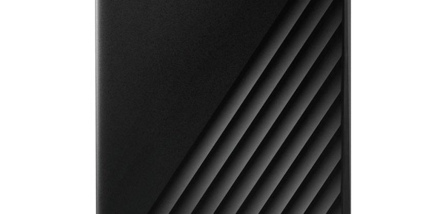 WD Passport 2TB Portable Hard Drive - Black from Argos