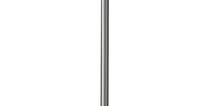 Argos Home Satin Stick Floor Lamp - Super White from Argos