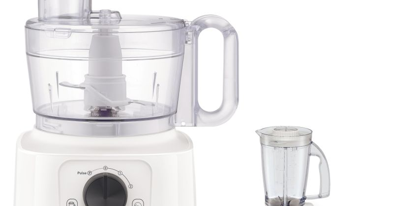 Tefal DO542140 Double Force Compact Food Processor - White from Argos