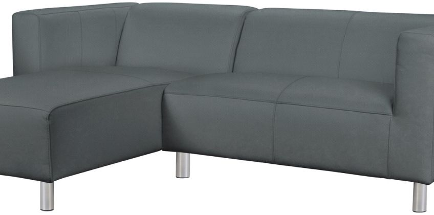 Argos Home Moda Left Corner Fabric Sofa - Grey from Argos