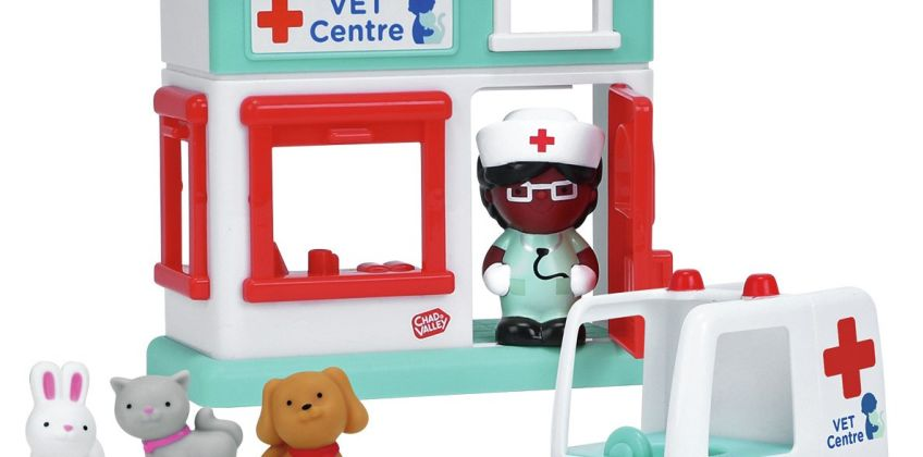 Chad Valley Tots Town Vet Centre Playset from Argos