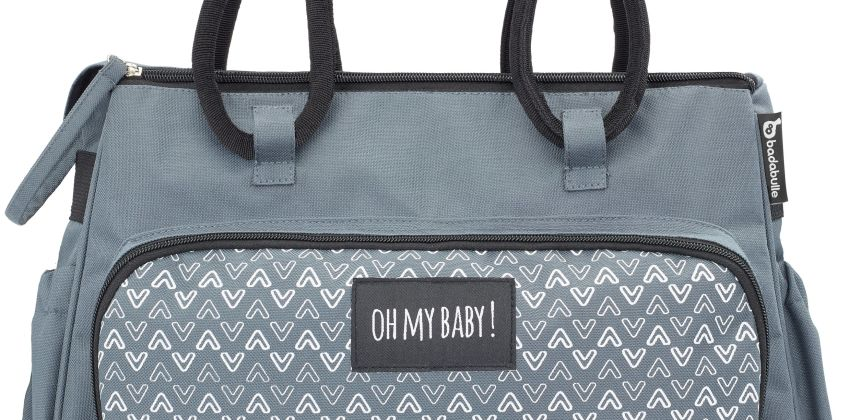 Badabulle Boho Changing Bag - Grey from Argos