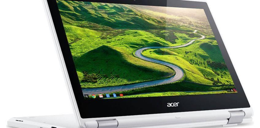 Acer R11 11.6 In Celeron 4GB 32GB Chromebook - White from Argos