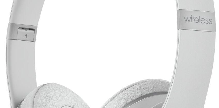 Beats by Dre Solo 3 On-Ear Wireless Headphones - Matt Silver from Argos