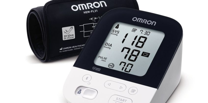 Omron M4 Intelli IT Upper Arm Blood Pressure Monitor from Argos