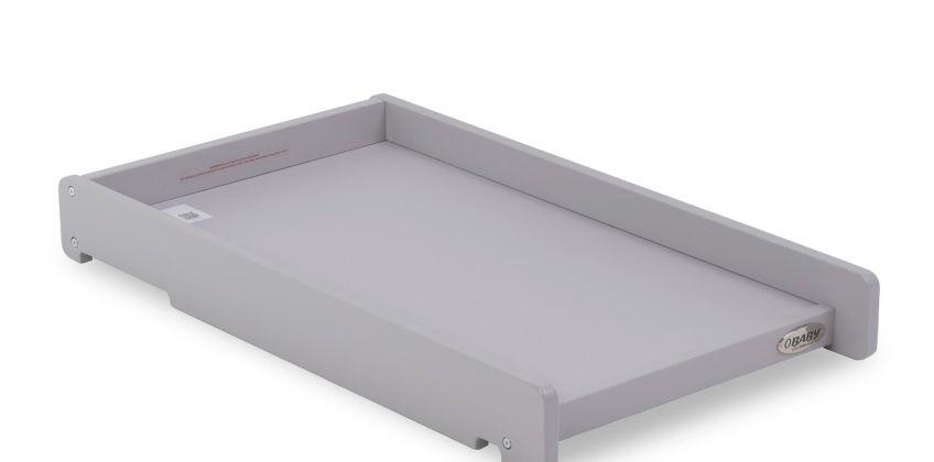 Obaby Cot Top Changer - Warm Grey from Argos
