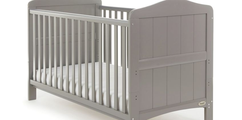 Obaby Whitby Cot Bed - Warm Grey from Argos