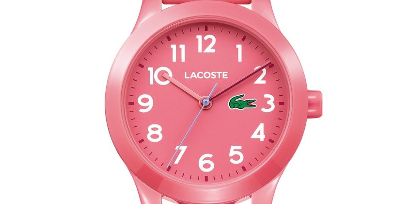 Lacoste  Pink Silicone Strap Watch from Argos