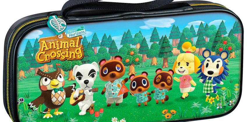 Nintendo Switch & Switch Lite Animal Crossing Pouch Case from Argos