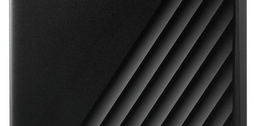 WD Passport 4TB Portable Hard Drive - Black from Argos