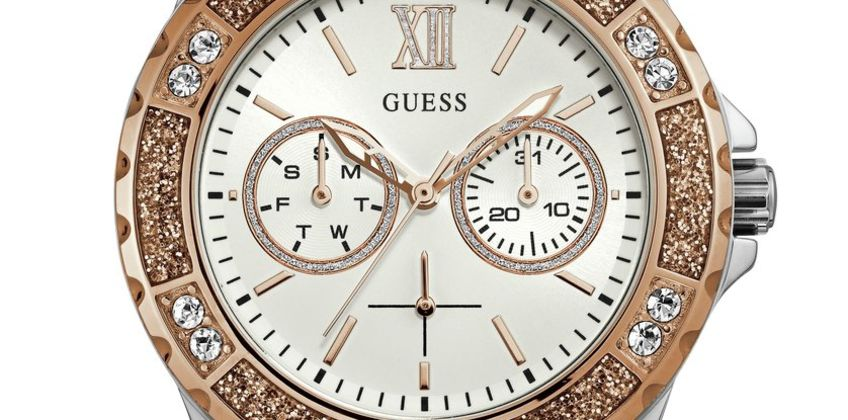 Guess Ladies White Silicone Strap Watch from Argos