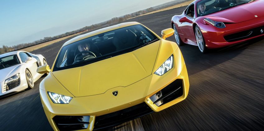 Double Supercar Gift Experience from Argos