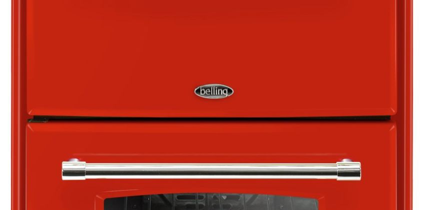 Belling Farmhouse 60DF 60cm Double Dual Fuel Cooker - Red from Argos