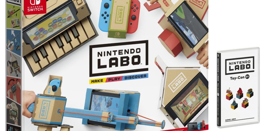 Nintendo Labo Toy-Con 01: Variety Kit from Argos