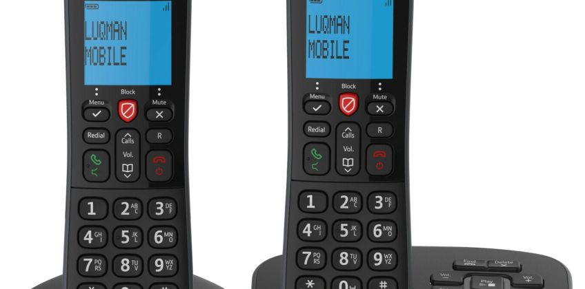 BT Essential Cordless Telephone & Answering Machine - Twin from Argos