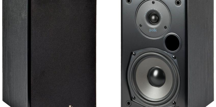 Polk Audio T15 Home Theatre and Music Bookshelf Speakers from Argos