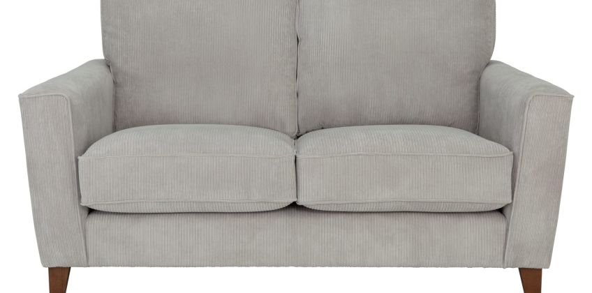 Argos Home Berlin 2 Seater Fabric Sofa - Silver from Argos