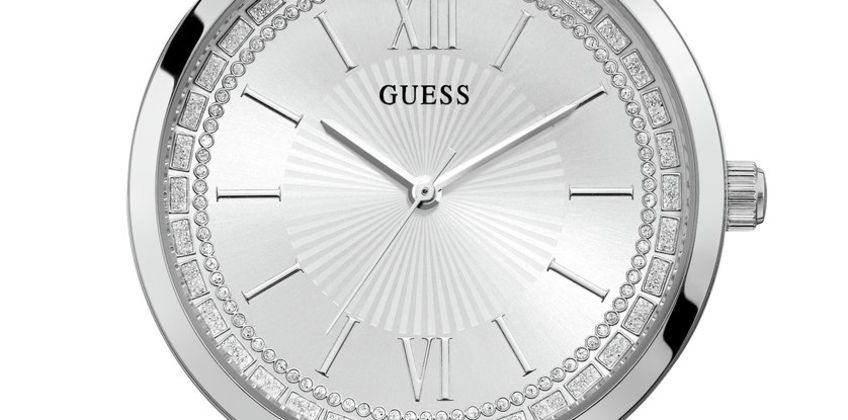 Guess Ladies Silver Stainless Steel Bracelet Watch from Argos