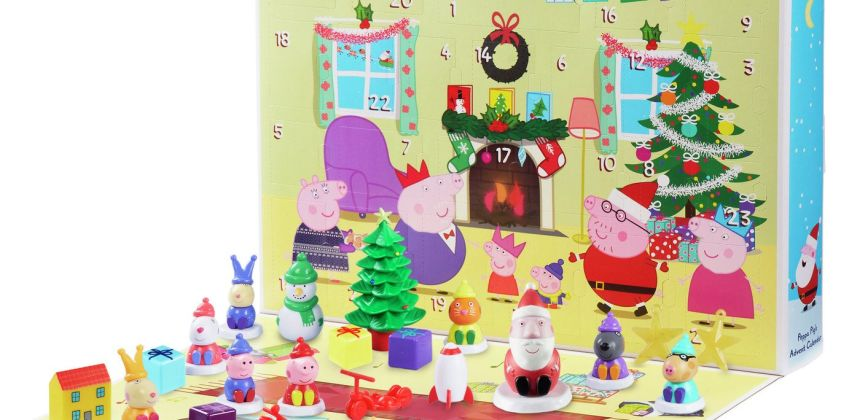 Peppa Pig Advent Calendar from Argos