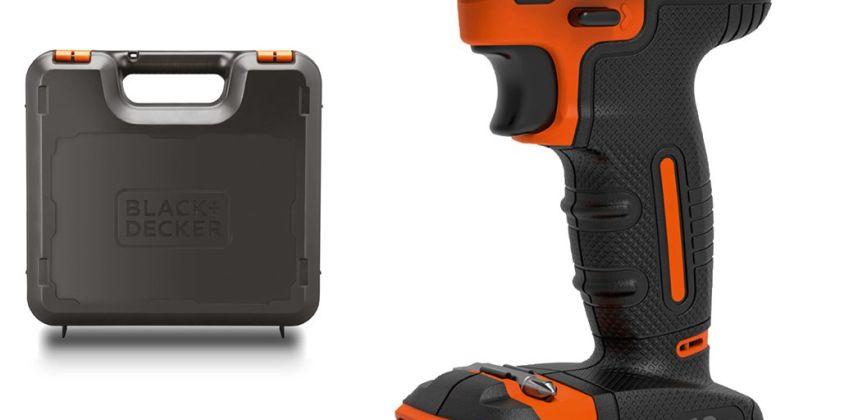 Black + Decker BCD700S1KA Hammer Drill with Battery - 18V from Argos
