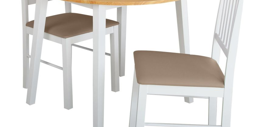 Argos Home Kendal Solid Wood Extending Table & 2 Chairs from Argos