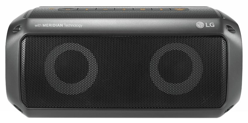 LG PK3 XBOOM GO Waterproof Bluetooth Portable Speaker from Argos