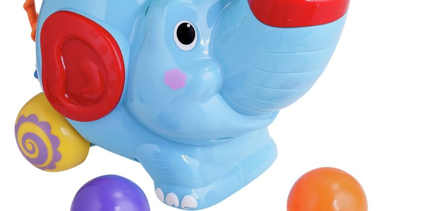 Chad Valley Ball Pop Elephant from Argos
